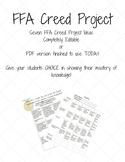 FFA Creed Project