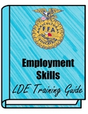 FFA Employment Skills LDE Training Guide
