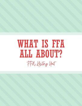 FFA History Unit