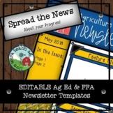 FFA Newsletter Template - EDITABLE