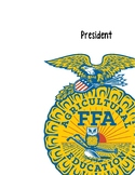 FFA Officer Notebook Covers