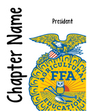 FFA Officer Notebook Covers - Publisher