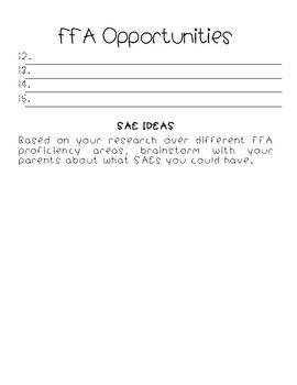 FFA Opportunities