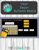 FFA Stock Show Bulletin Board