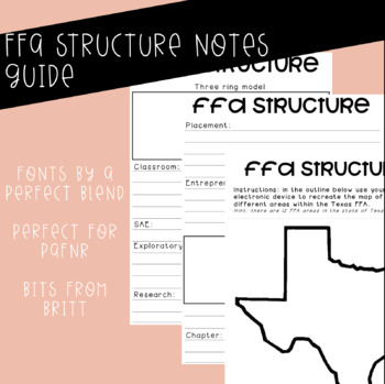 FFA Structure Notes