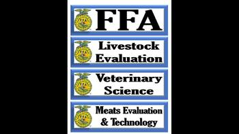 FFA Theme Schedule Cards
