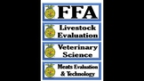 FFA Theme Schedule Cards