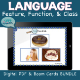 Distance Learning Wh Questions FFC Digital Bundle w BOOM C