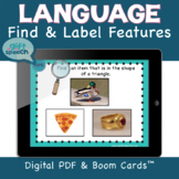 FFC by Feature Digital NO Print Speech Therapy Distance Learning