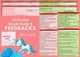 feedbacksforyou | Editable Interactive Excel Workbook | BUNDLE ENG2CHINESE