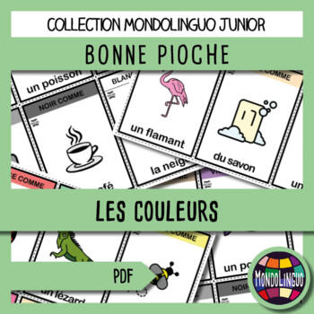 French/FFL/FSL - Games - Go Fish - Colors