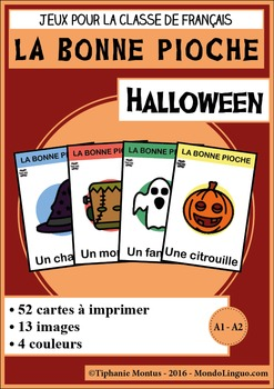 French/FFL/FSL - Games - Go Fish - Halloween