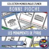 Card game to teach French/FFL/FSL: Bonne pioche - Paris/Pa