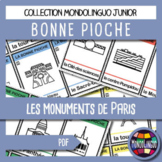 Card game to teach French/FFL/FSL: Bonne pioche - Paris/Pa