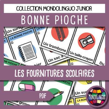 French/FFL/FSL - Card Game - Go Fish - Fournitures/School