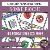 Card game to teach French/FFL/FSL: Bonne pioche - Fournitu