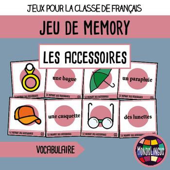 French/FFL/FSL - Games - Memory - Accessories