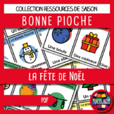 Card game to teach French/FFL/FSL: Bonne pioche - Noël/Christmas
