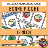 Card game to teach French/FFL/FSL: Bonne pioche - Météo/Weather