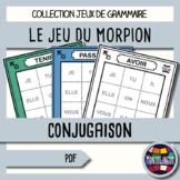 Games to teach French/FFL/FLS: Morpion de la conjugaison/T
