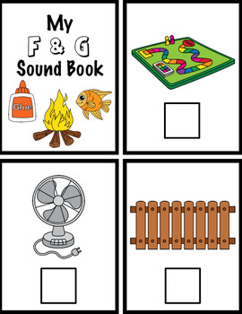 FGLH Beginning Sounds and Phonemic Awareness Interactive Books Set 3