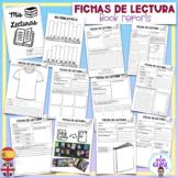 FICHAS/ACTIVIDADES DE LECTURA- ESPAÑOL