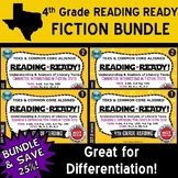 FICTION BUNDLE ~ READING READY 4th Grade Task Cards – 4 Basic & Advanced Sets