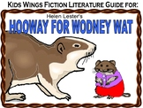 HOOWAY FOR WODNEY WAT and  CAPYBARA!  A FICTION - NONFICTION PAIR!