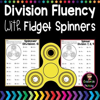 FIDGET SPINNER DIVISION – A DIVISION FLUENCY ACTIVITY