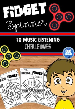 FIDGET SPINNER - MUSIC LISTENING CHALLENGES