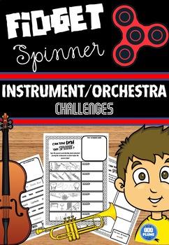 FIDGET SPINNER - ORCHESTRA / INSTRUMENT CHALLENGES