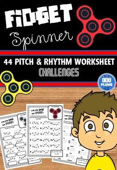 FIDGET SPINNER - PITCH & RHYTHM CHALLENGES