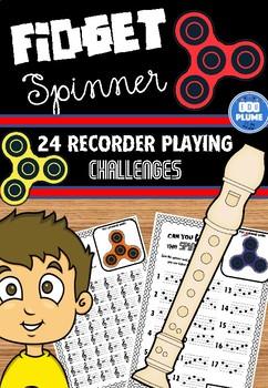 FIDGET SPINNER - RECORDER CHALLENGES