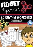 FIDGET SPINNER - RHYTHM CHALLENGES