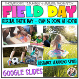 Virtual FIELD DAY | Google Slides | Digital | Distance Learning THEME DAY