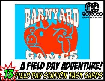 FIELD DAY PACKET BARNYARD GAMES