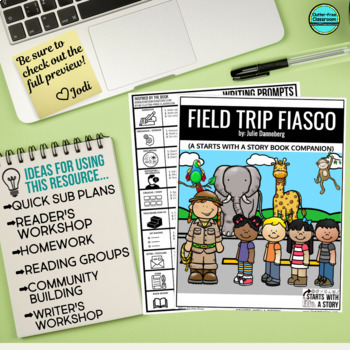 FIELD TRIP FIASCO Activities and Read Aloud Lessons