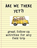 FIELD TRIP PACKET! for teachers or homeschoolers!