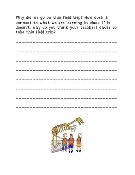 FIELD TRIP PACKET! for teachers or homeschoolers!