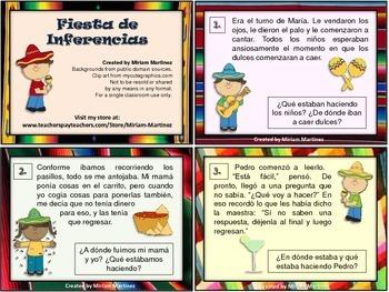 FIESTA DE INFERENCIAS