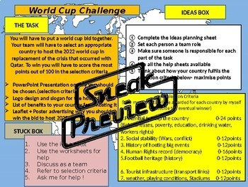 FIFA 2018 World Cup Challenge competition project