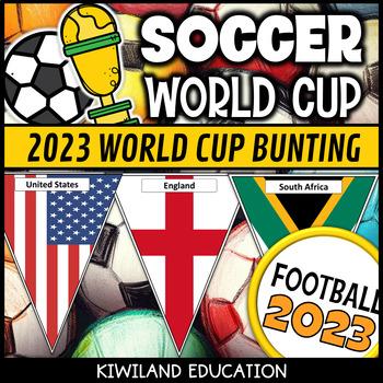 FIFA Football World Cup 2018 Bunting