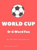 FIFA World Cup 2018: Orton-Gillingham Activities