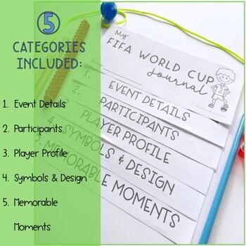 FIFA World Cup Reflective Journal  Flipbook - Grade 2 - 6