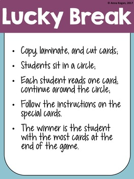 Reading Fluency Games - FIFTH 100 Fry Phrases