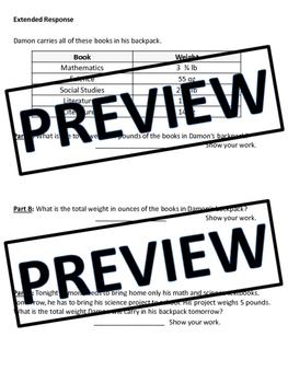 FIFTH GRADE COMMON CORE MATH MD1 UNIT-Measurement (Customary/Metric)