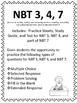 FIFTH GRADE COMMON CORE MATH NBT3,4,7-Addition/Subtraction