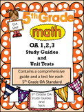 FIFTH GRADE COMMON CORE COMPLETE OA UNIT (OA1, OA2, OA3)