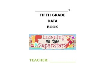FIFTH GRADE STUDENT DATA BOOK