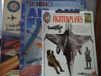 FIGHTER PLANES,AIR AND FLIGHTEXPERIMENTS, JETS(set of 3)